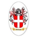 Veltman Sticker (Oval 10 pk)