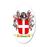 Veltman 35x21 Oval Wall Decal