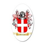 Veltman 35x21 Oval Wall Decal