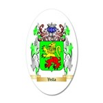Vella 35x21 Oval Wall Decal