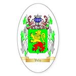 Veliz Sticker (Oval 50 pk)
