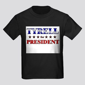 TYRELL for president Kids Dark T-Shirt