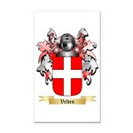 Velden Rectangle Car Magnet