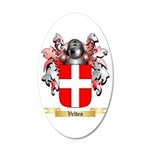 Velden 20x12 Oval Wall Decal