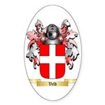 Veld Sticker (Oval 10 pk)