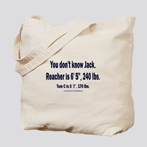 You Don't Know Jack Tote Bag