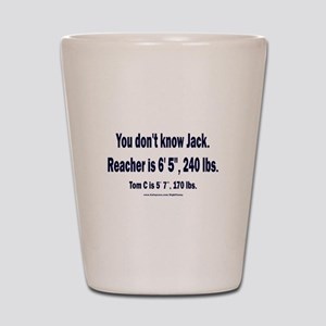 You Don't Know Jack Shot Glass