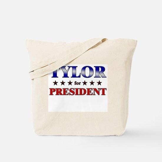 TYLOR for president Tote Bag