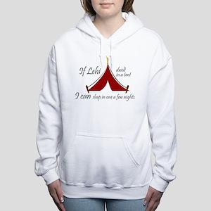 'Dwelt in a tent' Women's Hooded Sweatshirt