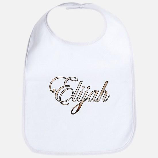 Gold Elijah Bib