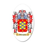 Velazquez 35x21 Oval Wall Decal
