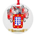 Velasquez Round Ornament