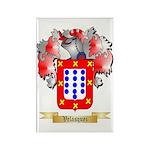 Velasquez Rectangle Magnet (100 pack)
