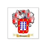 Velasquez Square Sticker 3