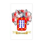Velasquez Sticker (Rectangle)