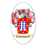Velasquez Sticker (Oval)