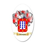 Velasquez 20x12 Oval Wall Decal