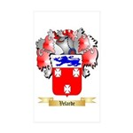 Velarde Sticker (Rectangle 50 pk)