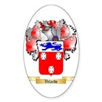 Velarde Sticker (Oval)