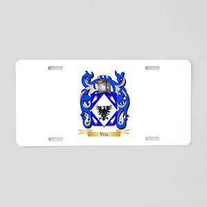 Vela Aluminum License Plate