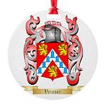 Veisser Round Ornament