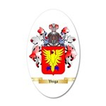 Veiga 20x12 Oval Wall Decal
