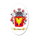 Veiga 35x21 Oval Wall Decal