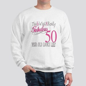 50th Birthday Gifts Sweatshirt