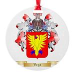 Vega Round Ornament