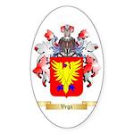 Vega Sticker (Oval 50 pk)