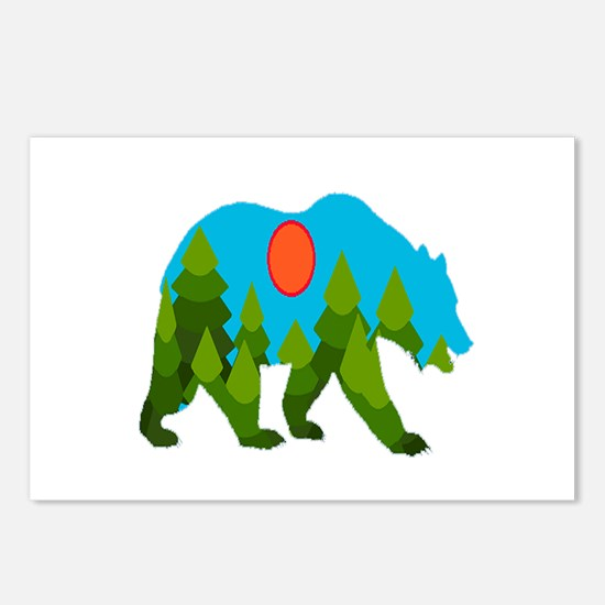 GRIZZLY Postcards (Package of 8)