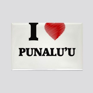 I love Punalu'U Hawaii Magnets