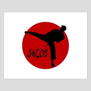 Jacob Karate Small Poster