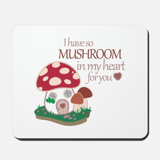 So Mushroom Mousepad