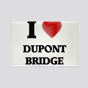 I love Dupont Bridge Florida Magnets