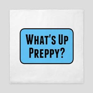 What's Up Preppy? Queen Duvet