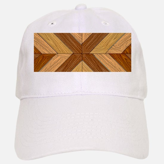7th Pattern; New Parquet Floor Baseball Baseball Cap