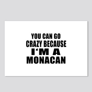 I Am Monaco Postcards (Package of 8)