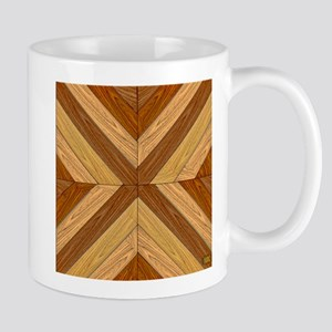 7th Pattern; New Parquet Floor Mugs