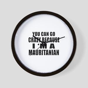 I Am Mauritanian Wall Clock