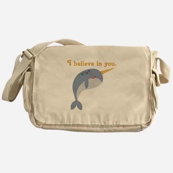 Believe In You Messenger Bag