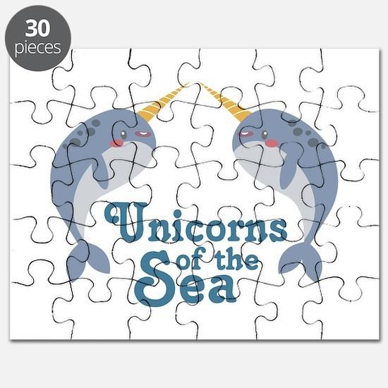 Unicorns Of Sea Puzzle