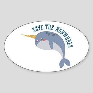 Save Narwhals Sticker