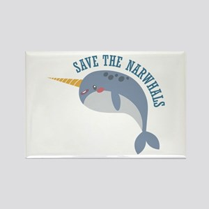 Save Narwhals Magnets
