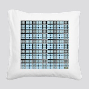 8th Pattern; New Plaid Patter Square Canvas Pillow