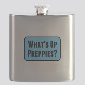 What's Up Preppies? Flask
