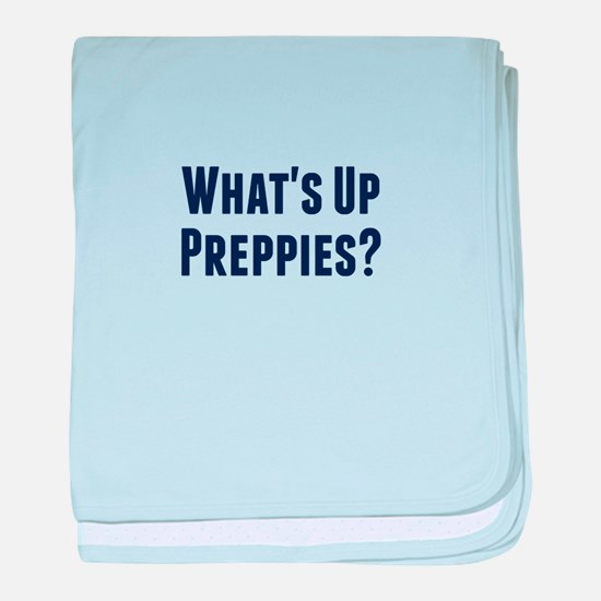 What's Up Preppies? baby blanket