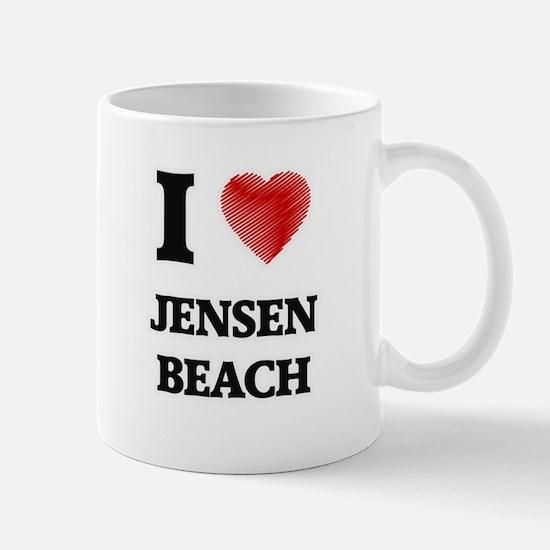 I love Jensen Beach Florida Mugs
