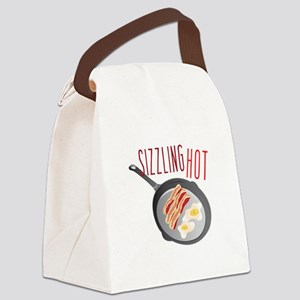 Sizzling Hot Canvas Lunch Bag
