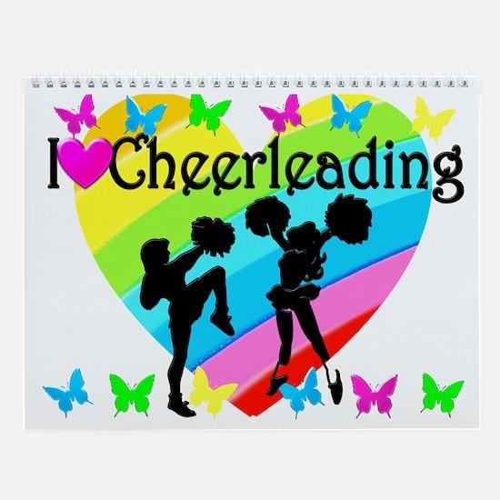 Love Cheering Wall Calendar